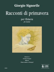 Signorile, Giorgio : Racconti di primavera (Spring Tales) for Guitar