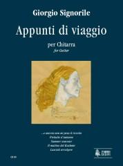 Signorile, Giorgio : Appunti di viaggio (Travel Diary) for Guitar