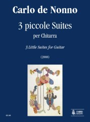 de Nonno, Carlo : 3 Little Suites for Guitar (2008)