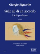 Signorile, Giorgio : Sulle ali di un accordo (On the Wings of a Chord). 9 Studies for Guitar (2008)