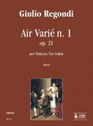 Regondi, Giulio : Air Varié No. 1 Op. 21 for Guitar