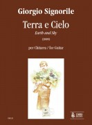 Signorile, Giorgio : Terra e Cielo (Earth and Sky) for Guitar (2009)