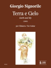 Signorile, Giorgio : Terra e Cielo (Earth and Sky) for Guitar (2009)