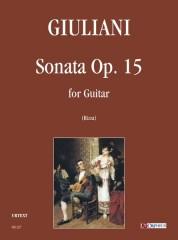 Giuliani, Mauro : Sonata Op. 15 for Guitar