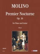 Molino, Francesco : Premier Nocturne Op. 36 for Piano and Guitar
