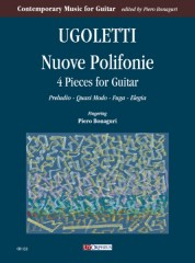 Ugoletti, Paolo : Nuove Polifonie. 4 Pieces for Guitar