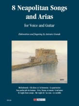 8 Neapolitan Songs and Arias for Voice and Guitar
