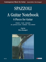Spazzoli, Alessandro : A Guitar Notebook. 6 Pieces for Guitar