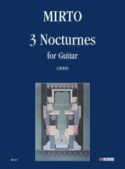 Mirto, Giorgio : 3 Nocturnes for Guitar (2010)