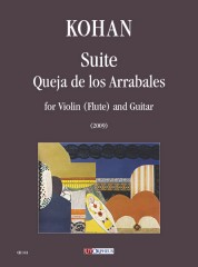 Kohan, Jorge Omar : Suite 'Queja de los Arrabales' for Violin (Flute) and Guitar (2009)