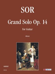 Sor, Fernando : Grand Solo Op. 14 for Guitar