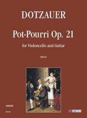 Dotzauer, Friedrich : Pot-Pourri Op. 21 for Violoncello and Guitar