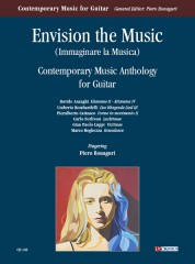 Envision the Music. Contemporary Music Anthology for Guitar (Anzaghi, Bombardelli, Cattaneo, Forlivesi, Luppi, Reghezza)