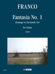 Franco, Alfredo : Fantasia No. 1 (Homage to Fernando Sor) for Guitar (2010)