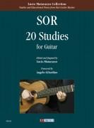Sor, Fernando : 20 Studies for Guitar