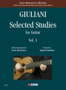 Giuliani, Mauro : Selected Studies for Guitar - Vol. 1