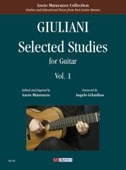 Giuliani, Mauro : Selected Studies for Guitar - Vol. 1