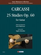 Carcassi, Matteo : 25 Studies Op. 60 for Guitar
