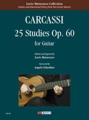 Carcassi, Matteo : 25 Studies Op. 60 for Guitar