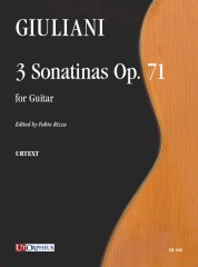 Giuliani, Mauro : 3 Sonatinas Op. 71 for Guitar