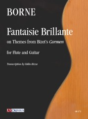 Borne, François : Fantaisie Brillante on Themes from Bizet's 'Carmen' for Flute and Guitar