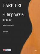 Barbieri, Girolamo : 4 Improvvisi for Guitar