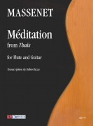 Massenet, Jules : Méditation from 'Thaïs' for Flute and Guitar