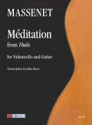 Massenet, Jules : Méditation from 'Thaïs' for Violoncello and Guitar