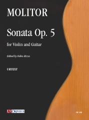 Molitor, Simon : Sonata Op. 5 for Violin and Guitar