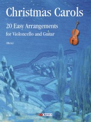 Christmas Carols. 20 Easy Arrangements for Violoncello and Guitar