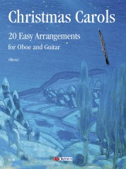 Christmas Carols. 20 Easy Arrangements for Oboe and Guitar