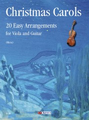 Christmas Carols. 20 Easy Arrangements for Viola and Guitar
