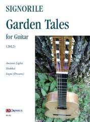 Signorile, Giorgio : Garden Tales for Guitar (2012)