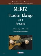 Mertz, Johann Kaspar : Barden-Klänge for Guitar - Vol. 1
