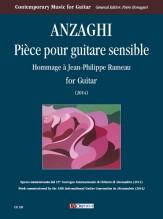 Anzaghi, Davide : Pièce pour guitare sensible. Hommage à Jean-Philippe Rameau for Guitar (2014)