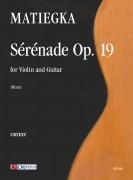 Matiegka, Wenzeslaus Thomas : Sérénade Op. 19 for Violin and Guitar