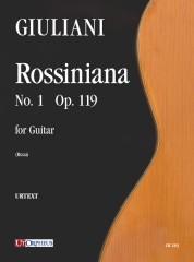 Giuliani, Mauro : Rossiniana No. 1 Op. 119
