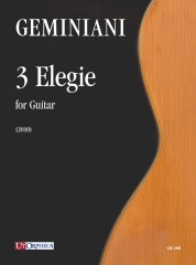 Geminiani, Paolo : 3 Elegie for Guitar (2010)