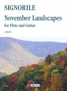 Signorile, Giorgio : November Landscapes for Flute and Guitar (2014)