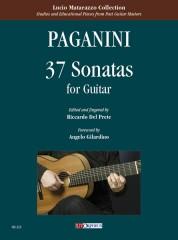 Paganini, Niccolò : 37 Sonatas for Guitar