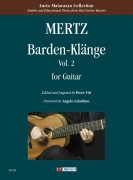 Mertz, Johann Kaspar : Barden-Klänge for Guitar - Vol. 2