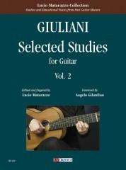 Giuliani, Mauro : Selected Studies for Guitar - Vol. 2