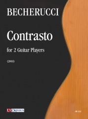Becherucci, Eugenio : Contrasto for 2 Guitar Players (2003)