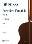 Fossa, François de : Première Fantaisie Op. 5 for Guitar