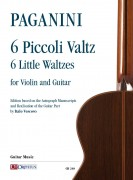Paganini, Niccolò : 6 Little Waltzes for Violin and Guitar