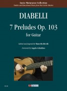 Diabelli, Anton : 7 Preludes Op. 103 for Guitar