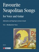 Favourite Neapolitan Songs for Voice and Guitar - Vol. 1: Medium/Low Voice
