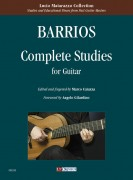 Barrios Mangoré, Agustín : Complete Studies for Guitar