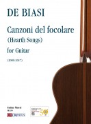 De Biasi, Marco : Canzoni del focolare (Hearth Songs) for Guitar (2009-2017)