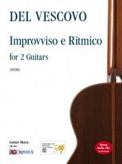 Del Vescovo, Ganesh : Improvviso e Ritmico for 2 Guitars (1998)